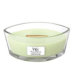 HearthWick® Green Tea & Lime Candle by WoodWick®