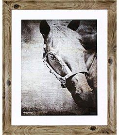 Ruff Hewn Horse Portrait