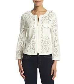 Jones New York® Cropped Lace Jacket