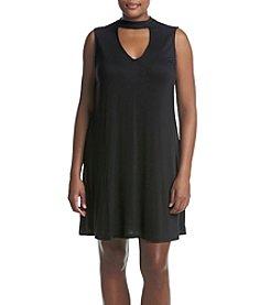 Living Doll® Plus Size Gigi Neck Swing Dress