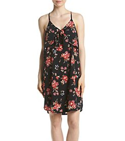 Eyeshadow® Floral Tie Front Swing Dress