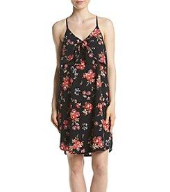 Eyeshadow® Floral Tie Front Swing Dress