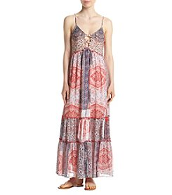 Living Doll® Tiered Skirt Maxi Dress