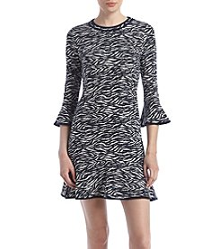 MICHAEL Michael Kors® Binding Flounce Dress