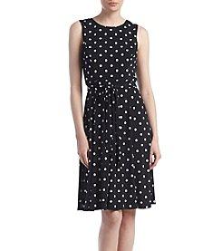 Jessica Howard® Dot Matte Jersey Dress