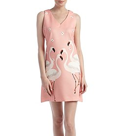 Gabby Skye® Flamingo Sheath Dress