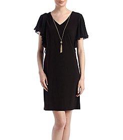 Prelude® Cold-Shoulder Dress