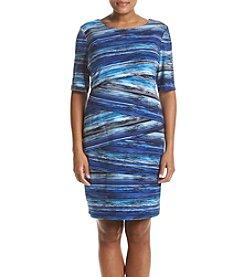 Connected® Plus Size Bateau Dress