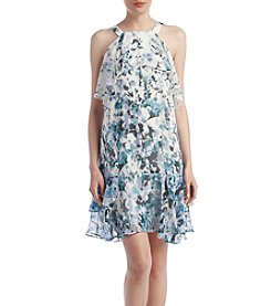 Adrianna Papell® Floral Cascade Shift Dress