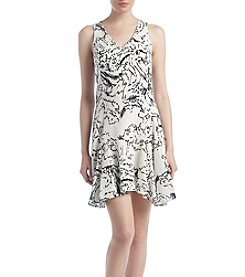 Ivanka Trump® Iced Floral Dress
