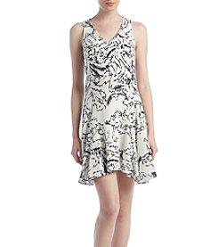 Ivanka Trump® Iced Floral Dress