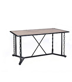 Acme Furniture Jodie Rustic Oak Dining Table