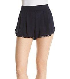 A. Byer Pom Pom Shorts