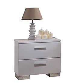 Acme Furniture Lorimar 2-Drawer Nightstand