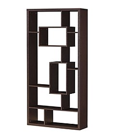 Acme Furniture Mileta 10-Shelf Modern Bookcase
