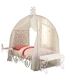 Acme Priya II Twin Bed with Canopy