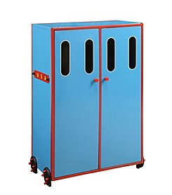 Acme Furniture Tobi Blue Train Wardrobe