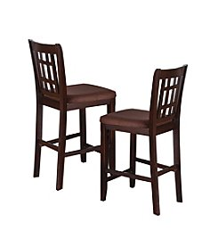 Acme Adalia Set of 2 Counter Height Dining Chairs