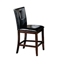 Acme Britney Set of 2 Counter Height Chairs