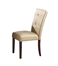 Acme Britney Set of 2 Side Chairs