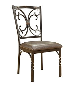 Acme Burril Set of 2 Side Chairs