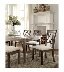 Acme Claudia Set of 2 Side Chairs