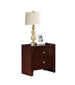 Acme Ilana Two-Drawer Nightstand