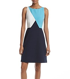 Adrianna Papell® Color Blocked Shift Dress