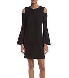 Calvin Klein Cold Shoulder Shift Dress