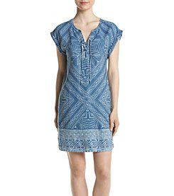 Jessica Simpson Samantha Denim Shift Dress