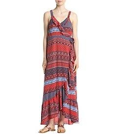 Living Doll® Wrap Midi Dress Americana Dress