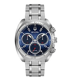 Bulova® CURV Men's Chronograph Stainless Steel Watch