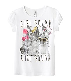 Beautees Girls' 4-6X Girl Squad Tee