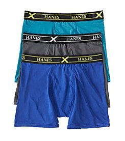 Hanes® 3-Pack Ultra Light Boxer Briefs