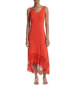 Cupio Crochet Trim Dress