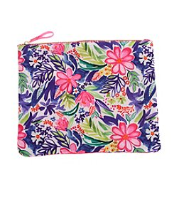 Erica Lyons® Large Tropical Flowers Pouch