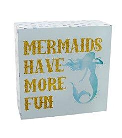 Erica Lyons® Mermaid Decorative Block