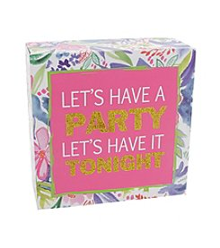 Erica Lyons® Let's Have A Party Decorative Block