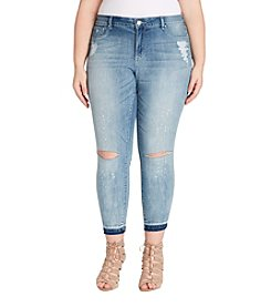 Jessica Simpson Plus Size Ankle Skinny Jeans