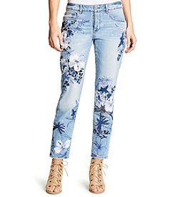 William Rast® Floral Embellished Jeans