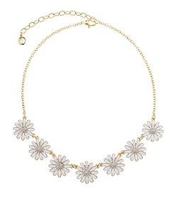 Gloria Vanderbilt™ Daisy Frontal Necklace