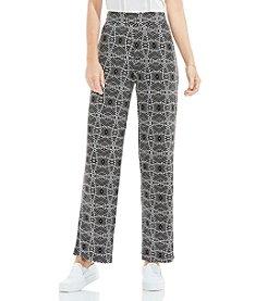 Vince Camuto® Geometric Printed Pants