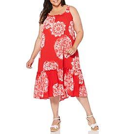 Rafaella® Plus Size Burst Soft Dress