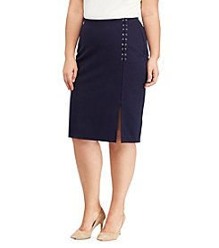 Lauren Ralph Lauren® Plus Size Pencil Skirt