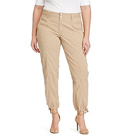Lauren Ralph Lauren® Plus Size Straight Cargo Pants