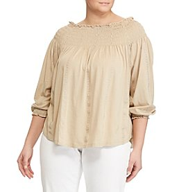 Lauren Ralph Lauren® Plus Size Off-Shoulder Top