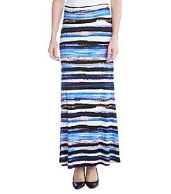 Karen Kane® Painted Stripe Maxi Skirt