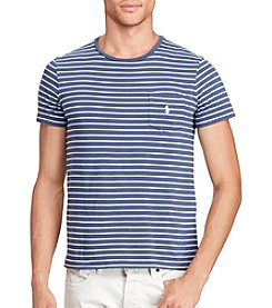 Polo Ralph Lauren® Men's Striped Jersey Pocket Tee