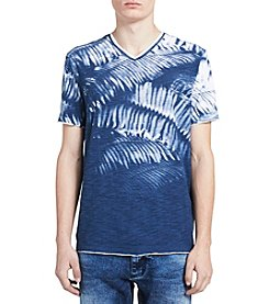 Calvin Klein Men's Weekend Palms V Neck Tee