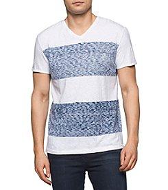 Calvin Klein Men's Short Sleeve V-Neck Tee